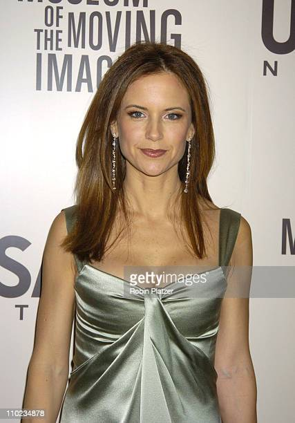 Kelly Preston during American Museum of The Moving Image Salute to John Travolta Arrivals at The Waldorf Astoria Hotel in New York New York United...