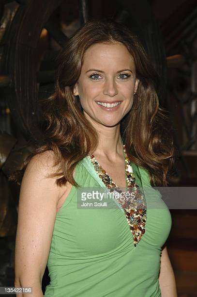 Kelly Preston during An Evening of Magic with Disney Benefiting Make a Wish Foundation at Diney Magic Cruise Ship in Los Angeles California United...