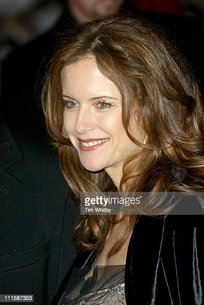 Kelly Preston during 'Be Cool' London Premiere at Empire Leicester Square in London Great Britain