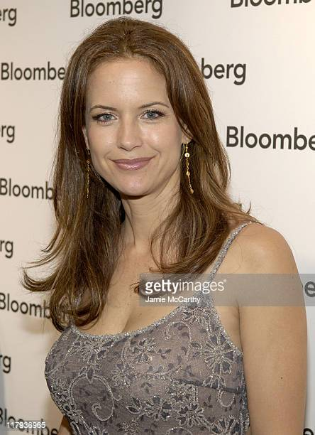 Kelly Preston during Bloomberg After Party at Private Residence in Washington District of Columbia United States