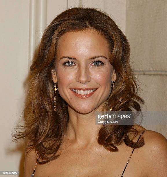Kelly Preston during Eulogy Los Angeles Premiere Arrivals at Mann Festival Theatre in Westwood California United States