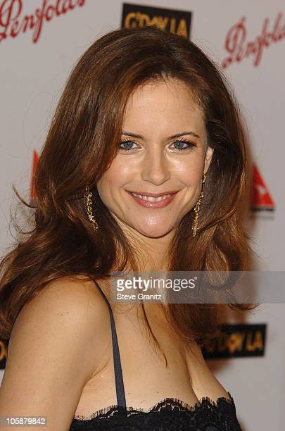 Kelly Preston during G'Day LA Australia Week 2006 Penfolds Icon Gala Dinner Arrivals in Los Angelees California United States