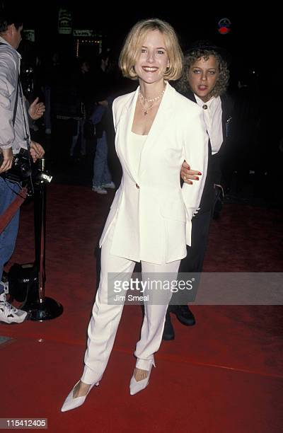 Kelly Preston during 'Interview With A Vampire' Los Angeles Premiere at Manns Village Theater in Westwood California United States