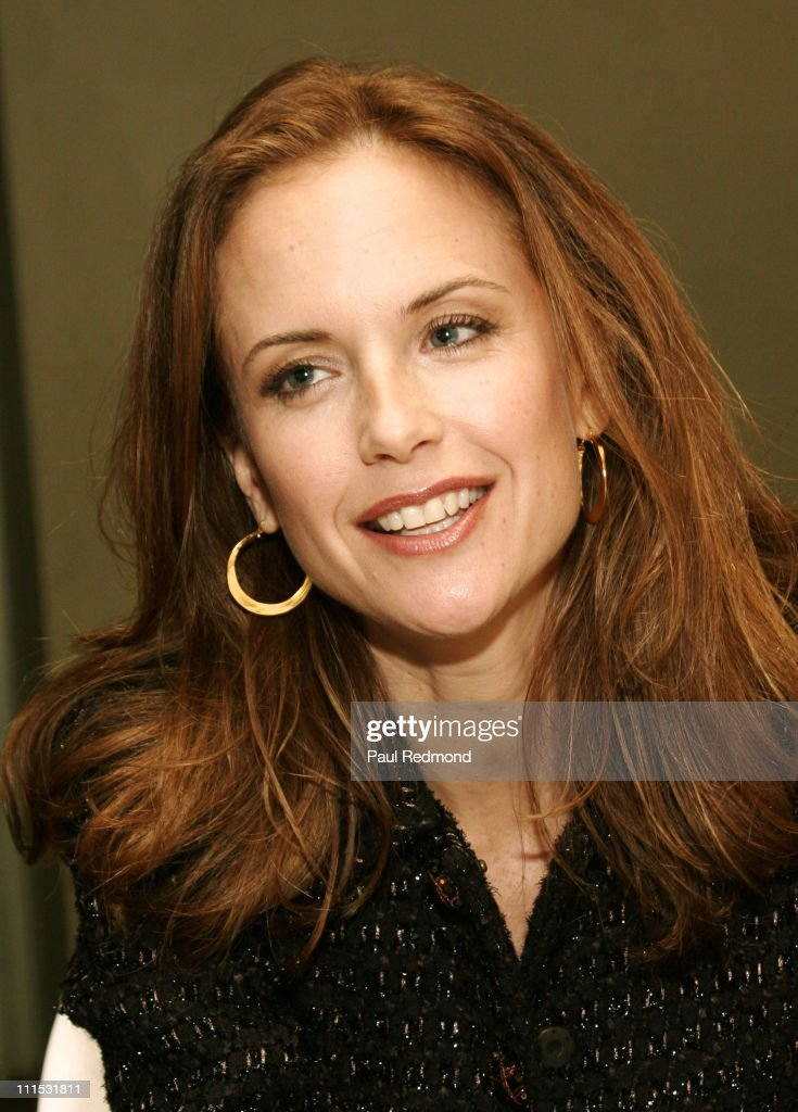 "Kelly Preston Appearance with Dominique Paul at ""The Possibility of Fireflies"""