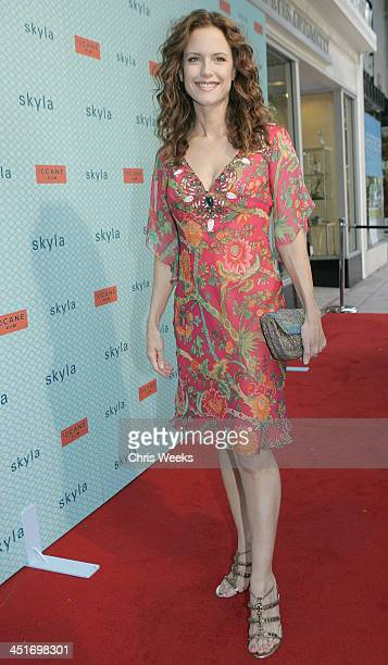 Kelly Preston during Kelly Preston Bijou Phillips and Keisha Whitaker Host Grand Opening of SKYLA at SKYLA in Westwood California United States