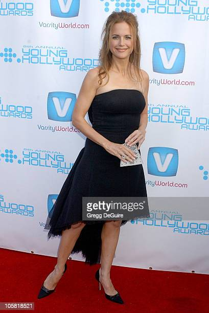 Kelly Preston during Movieline's Hollywood Life 8th Annual Young Hollywood Awards Arrivals at Music Box at The Fonda in Los Angeles California United...