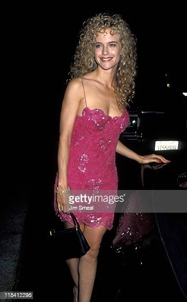 Kelly Preston during NAACP Salute to Eddie Murphy at Century Plaza Hotel in Los Angeles California United States