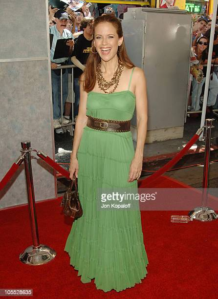 Kelly Preston during Sky High Los Angeles Premiere Arrivals at El Capitan in Hollywood California United States