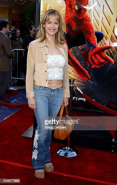 Kelly Preston during 'SpiderMan' Premiere at Mann Village in Westwood California United States