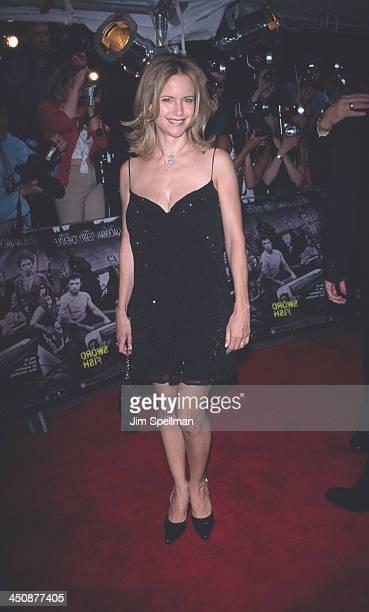 Kelly Preston during Swordfish New York Premiere at Ziegfeld Theatre in New York City New York United States