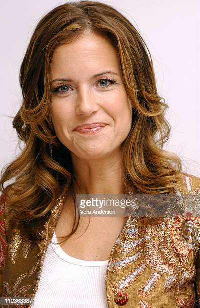Kelly Preston during The Cat in the Hat Press Conference with Mike Myers Dakota Fanning Kelly Preston and Spencer Breslin at Four Seasons Hotel in...