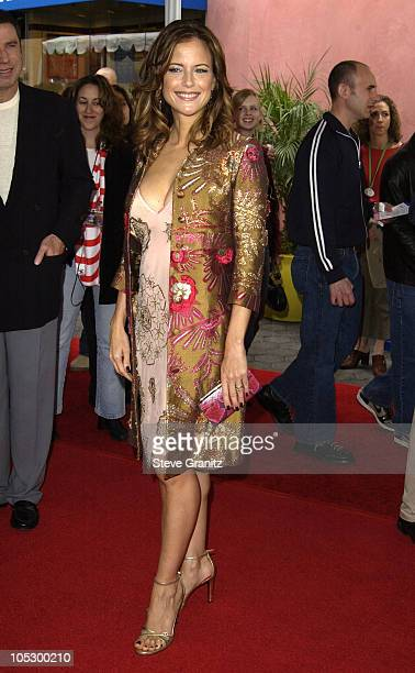 Kelly Preston during The Cat In The Hat World Premiere at Universal Studios Cinema in Universal City California United States
