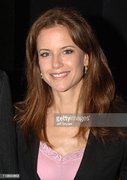 Kelly Preston during 'The Chumscrubber' Advance Screening at Landmark Cinema E Street in Washington District of Columbia United States