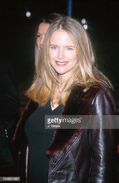 Kelly Preston during 'The Green Mile' Benefit Premiere Westwood California at Mann Village Theatre in Westwood California United States
