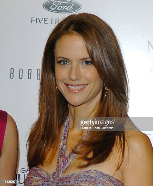 Kelly Preston during The Winners of the 6th Annual More Magazine Wilhelmina 40 Model Search at Cipriani in New York City New York United States