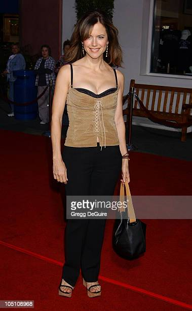 Kelly Preston during The World Premiere of 'Bruce Almighty' at Universal Amphitheatre in Universal City California United States