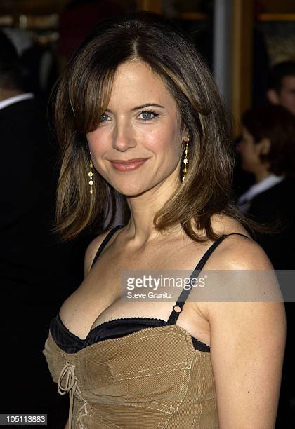 Kelly Preston during The World Premiere of Bruce Almighty at Universal Amphitheatre in Universal City California United States