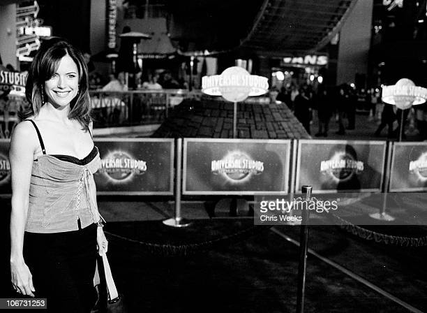 Kelly Preston during The World Premiere of Bruce Almighty Black White Photography by Chris Weeks at Universal Amphitheatre in Universal City...