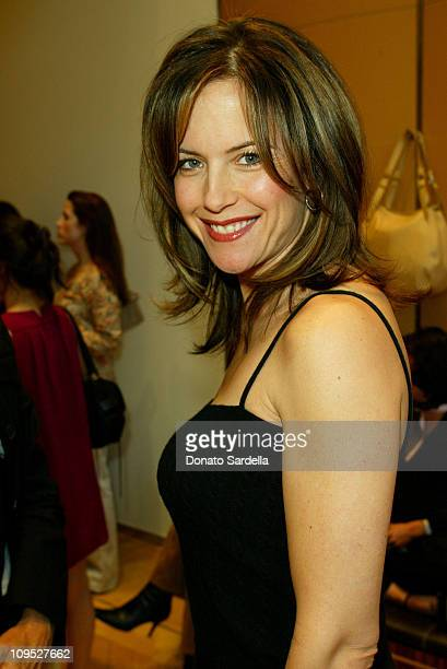 Kelly Preston during Tod's Beverly Hills Boutique Charity Event To Benefit Caring For Children Families With Aids at Tod's Beverly Hills Boutique in...