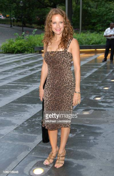 Kelly Preston during Tony Bennett's 80th Birthday Party at Museum of Natural History in New York City New York United States