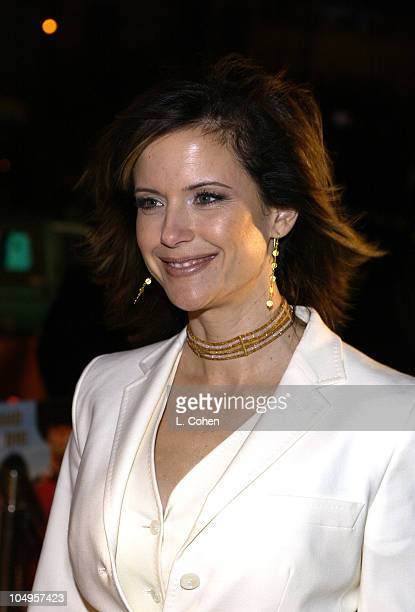 Kelly Preston during What A Girl Wants Premiere Arrivals at Cinerama Dome in Hollywood California United States
