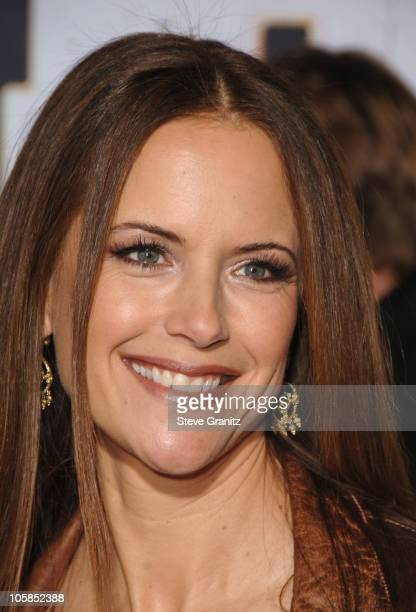 Kelly Preston during Wild Hogs Los Angeles Premiere Arrivals at El Capitan Theater in Hollywood California United States
