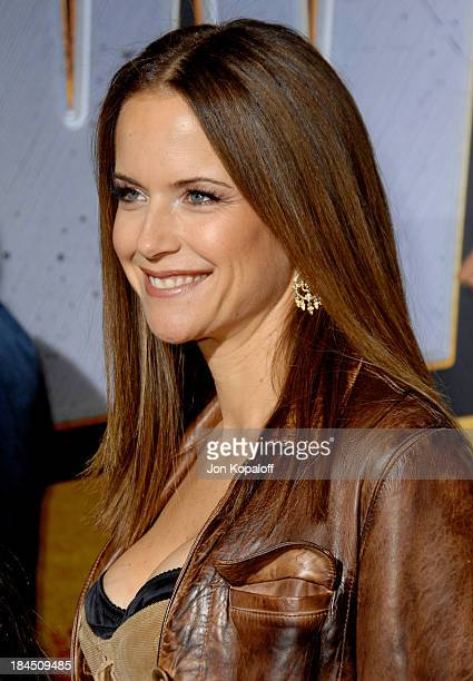 Kelly Preston during 'Wild Hogs' Los Angeles Premiere Arrivals at El Capitan Theater in Hollywood California United States