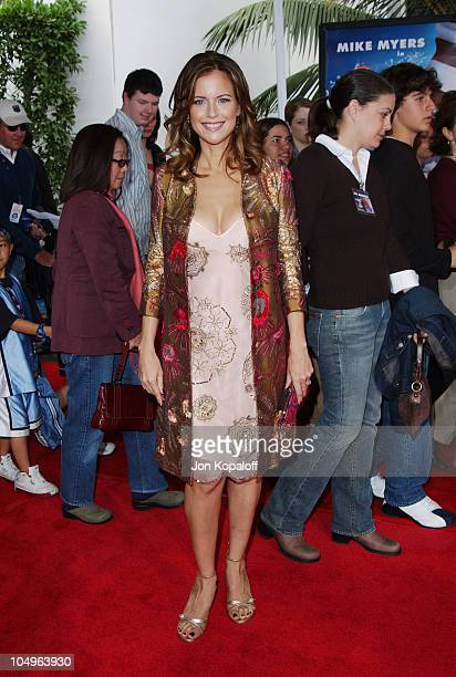 Kelly Preston during World Premiere of The Cat In The Hat at Universal Studios Cinemas in Hollywood California United States