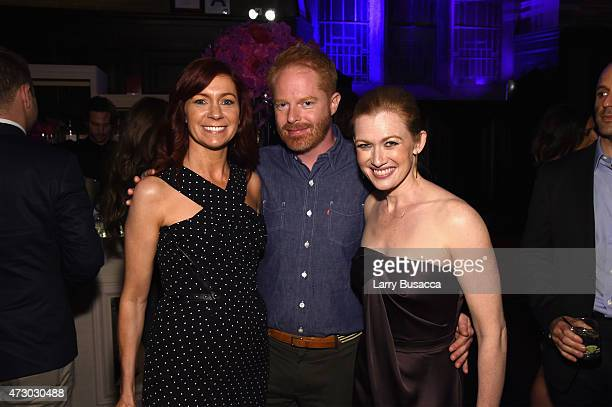 Kelly Preston, Jesse Tyler Ferguson and Mireille Enos attend the Entertainment Weekly and PEOPLE celebration of The New York Upfronts at The Highline...