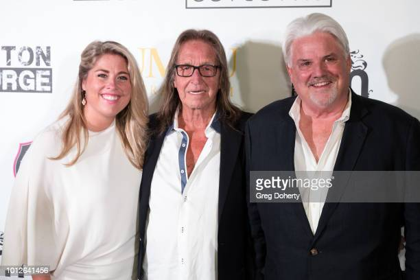 Kelly Provinzano George Jung and Retired Undercover DEA Agent Michael McManus attend George Jung's Birthday Celebration And Screening Of Blow at TCL...