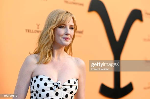 "Kelly Reilly attends Paramount Network's ""Yellowstone"" Season 2 Premiere Party at Lombardi House on May 30, 2019 in Los Angeles, California."