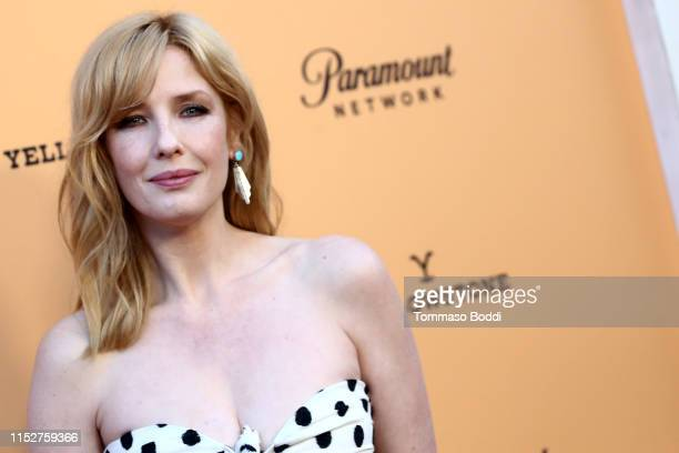 "Kelly Reilly attends the Premiere Party For Paramount Network's ""Yellowstone"" Season 2 at Lombardi House on May 30, 2019 in Los Angeles, California."