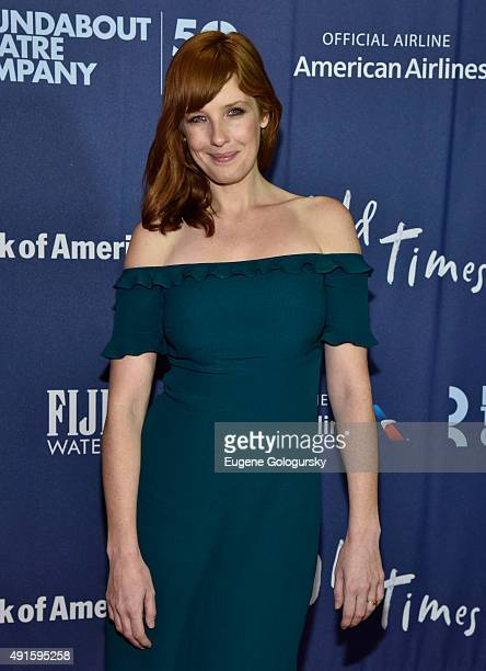 Kelly Reilly attends the The Roundabout Theatre Company's Broadway Opening Night Of Old Times Co-Sponsored By FIJI Water at Roundabout Theatre...