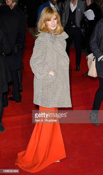 Kelly Reilly attends the UK Premiere of 'Flight' at The Empire Cinema on January 17 2013 in London England