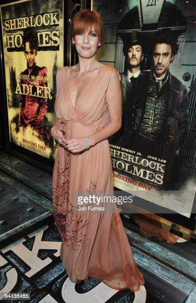 Kelly Reilly attends the World Premiere of 'Sherlock Holmes' at Empire Leicester Square on December 14 2009 in London England