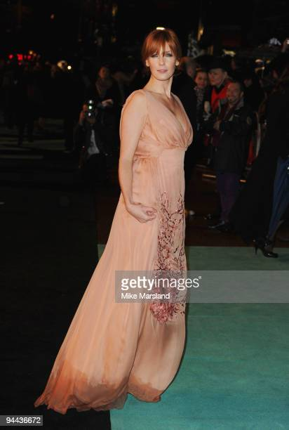 Kelly Reilly attends the World Premiere of Sherlock Holmes at the Empire Leicester Square on December 14 2009 in London England