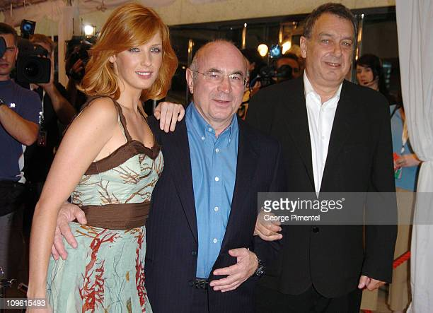 Kelly Reilly Bob Hoskins and director Stephen Frears