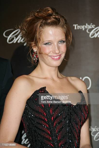 Kelly Reilly during 2005 Cannes Film Festival Chopard Trophy Awards Photocall at Carlton Hotel in Cannes France