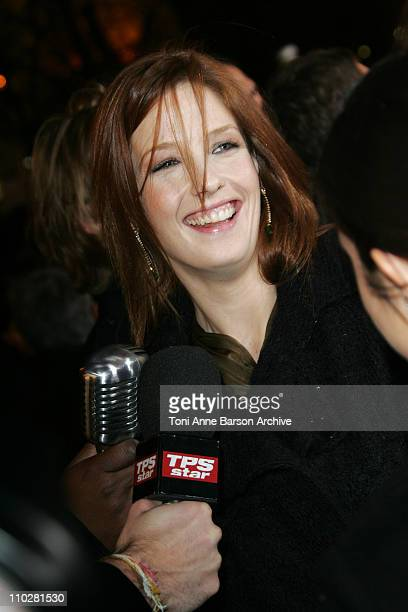 Kelly Reilly during 2006 Cesar Awards Ceremony - Arrivals at Theatre du Chatelet in Paris, France.