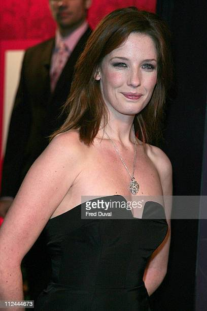 Kelly Reilly during Annabel's PreBAFTA Party February 18 2006 at Spencer House in London Great Britain