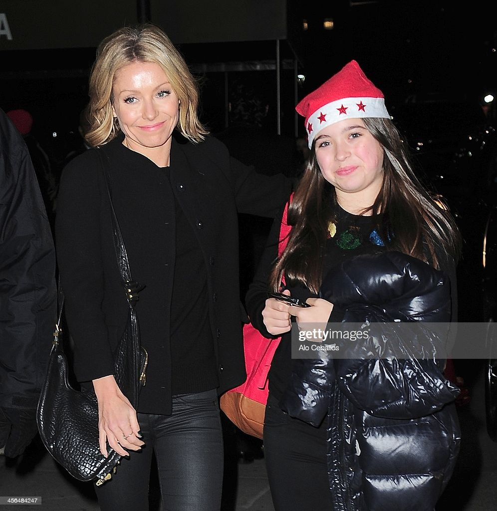 Celebrity Sightings In New York City - December 13, 2013 : News Photo
