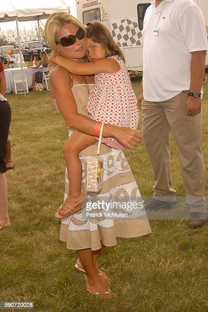 Kelly Ripa and Lola Grace Consuelos attend Donna Karan Charla Lawhon and IN STYLE Magazine Present Super Saturday 8 to Benefit The Ovarian Cancer...