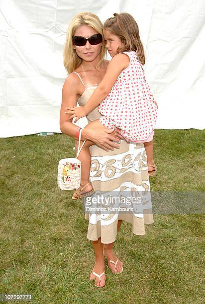 Kelly Ripa and Lola Grace Consuelos during Super Saturday 8 The World Famous Designer Garage Sale Benefiting The Ovarian Cancer Research Fund Hosted...