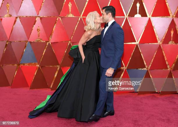 Kelly Ripa and Mark Consuelos attend the 90th Annual Academy Awards at Hollywood Highland Center on March 4 2018 in Hollywood California