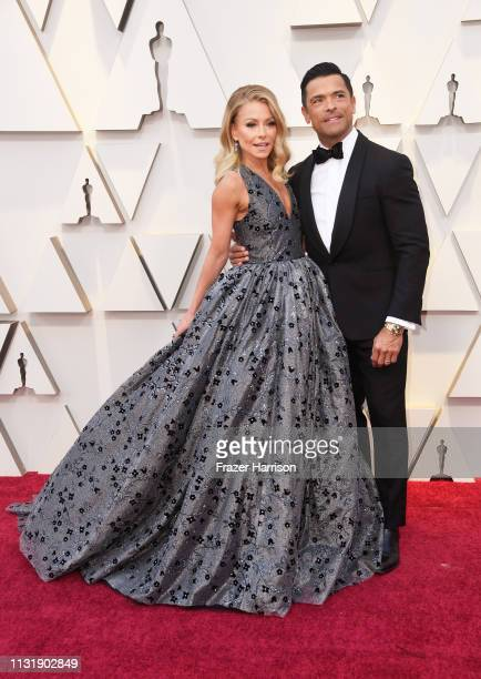Kelly Ripa and Mark Consuelos attend the 91st Annual Academy Awards at Hollywood and Highland on February 24 2019 in Hollywood California