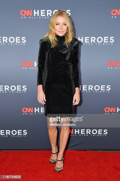 Kelly Ripa attends CNN Heroes at the American Museum of Natural History on December 08 2019 in New York City
