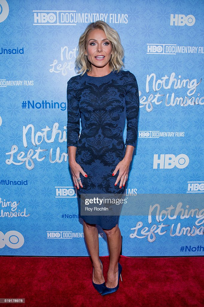 """""""Nothing Left Unsaid"""" New York Premiere"""