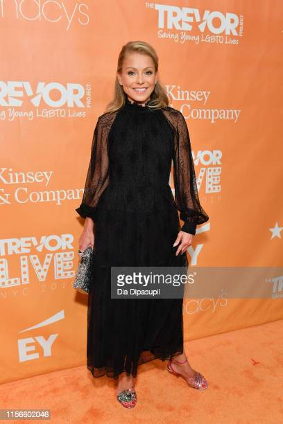 Kelly Ripa attends the 2019 TrevorLIVE New York Gala at Cipriani Wall Street on June 17 2019 in New York City
