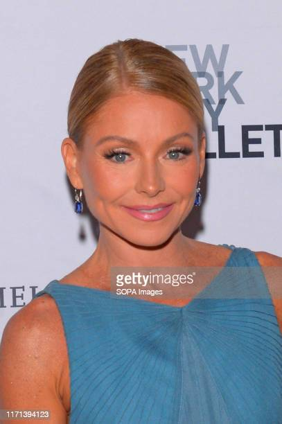 Kelly Ripa attends the 8th Annual New York City Ballet Fall Fashion Gala at David H Koch Theater Lincoln Center