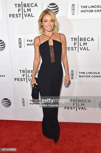 Kelly Ripa attends the 'All We Had' Premiere during the 2016 Tribeca Film Festival at BMCC John Zuccotti Theater on April 15 2016 in New York City